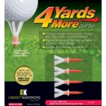 4 Yards More Reduced Friction Golf Tee by Greenkeepers-min