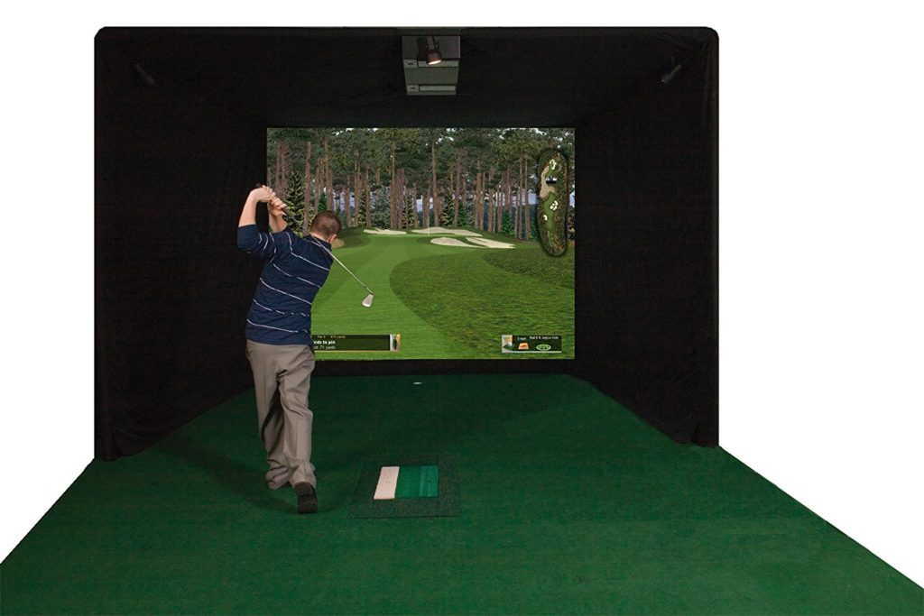 ES9000 Par T Golf Indoor Golf Simulator New-min