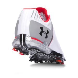 Under Armour Tour UA Spieth One Golf Shoes - White-Steel