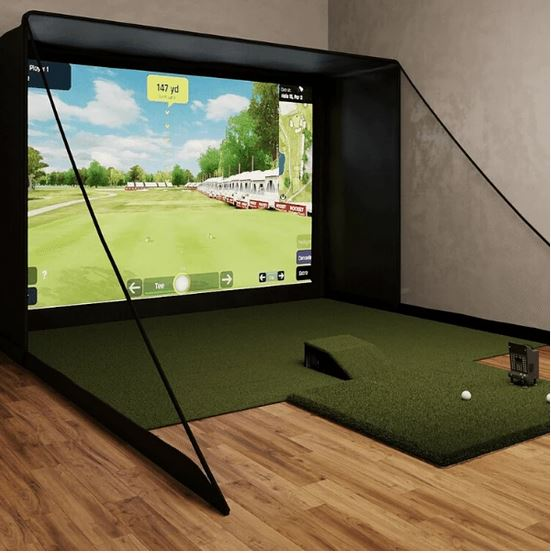 OptiShot BallFlight SIG12 Golf Simulator review bestgolfsimulatorsforhome
