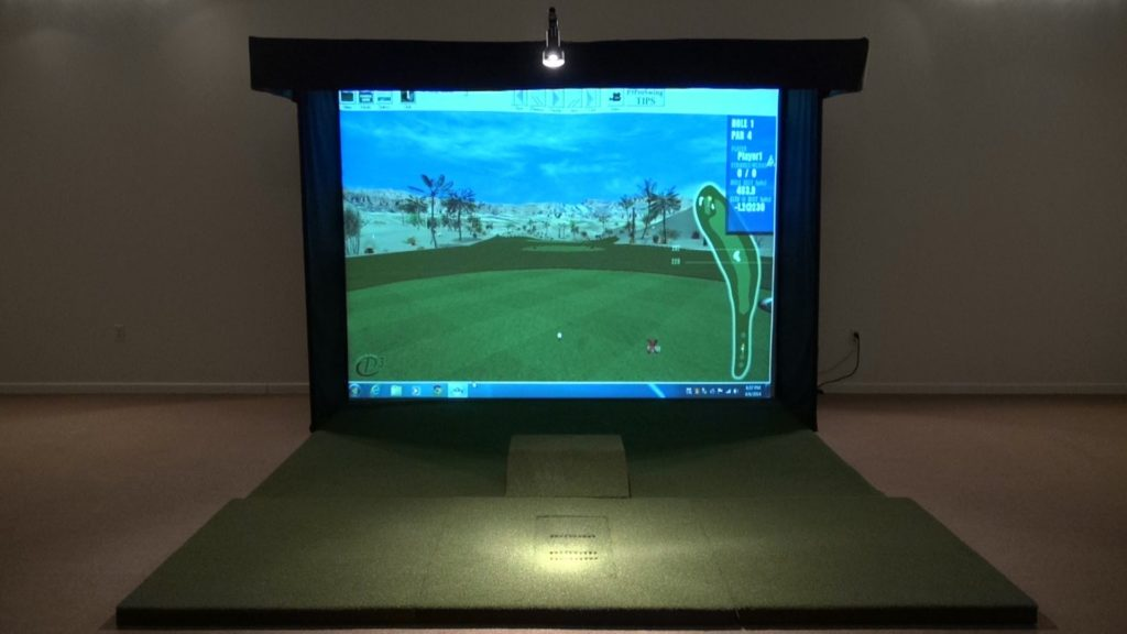 Golf Simulator For Sale >> P3proswing Golf Simulator For Home Review Buy Best Golf