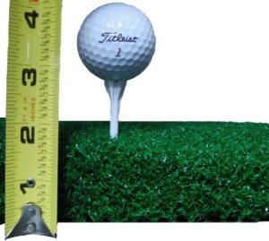 48 inch X 60 inch XL SuperMat Tee Golf Turf - Holds A Wooden Tee