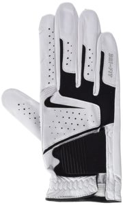 Nike GG0470 101 Dri-Fit Tech Golf Gloves, Medium, White-Black-Anthracite