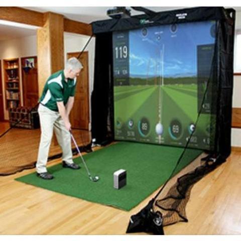 Skytrak golf simulators home studio series