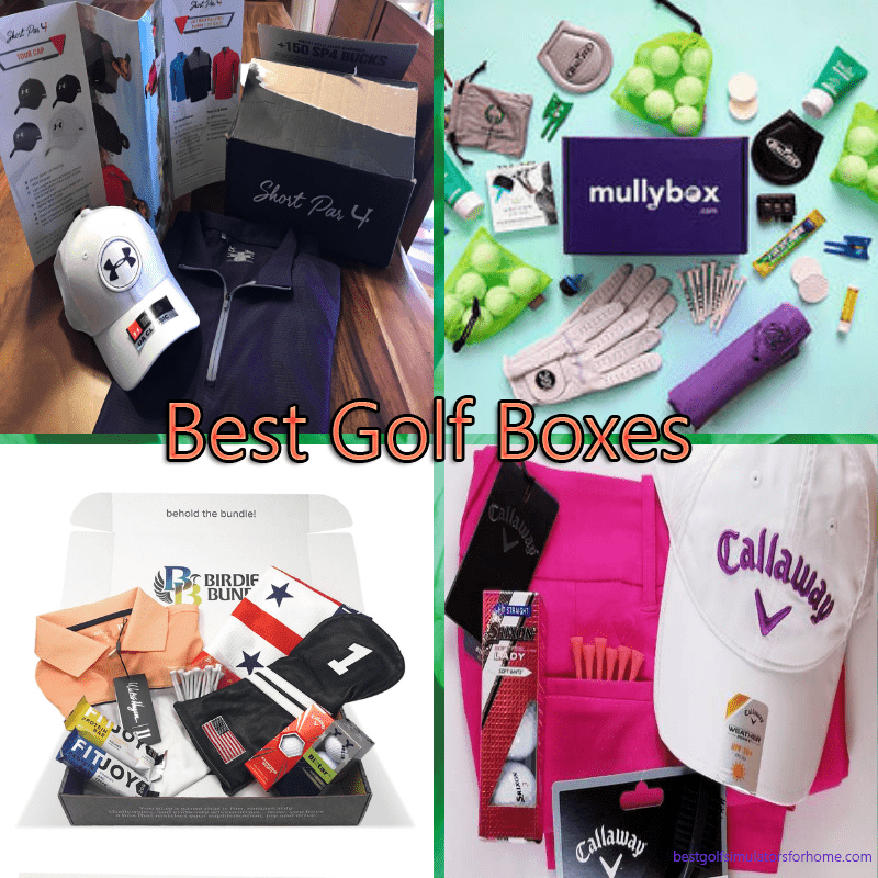 Monthly Golf Subscription Boxes