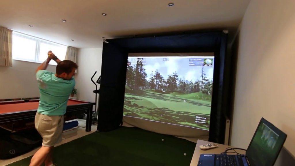 skytrak homecourse golf simulators