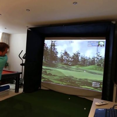 skytrak homecourse golf simulators