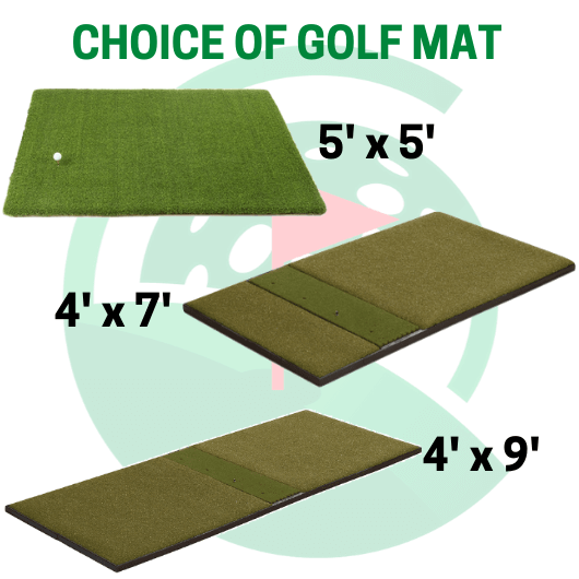 choice of golf mats- skytrak sig12 golf simulator review