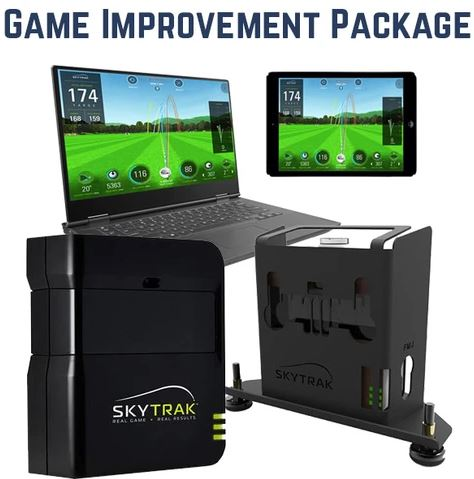 SkyTrak Swingbay Golf Simulator Package review - bestgolfsimulatorsforhomereviews.com