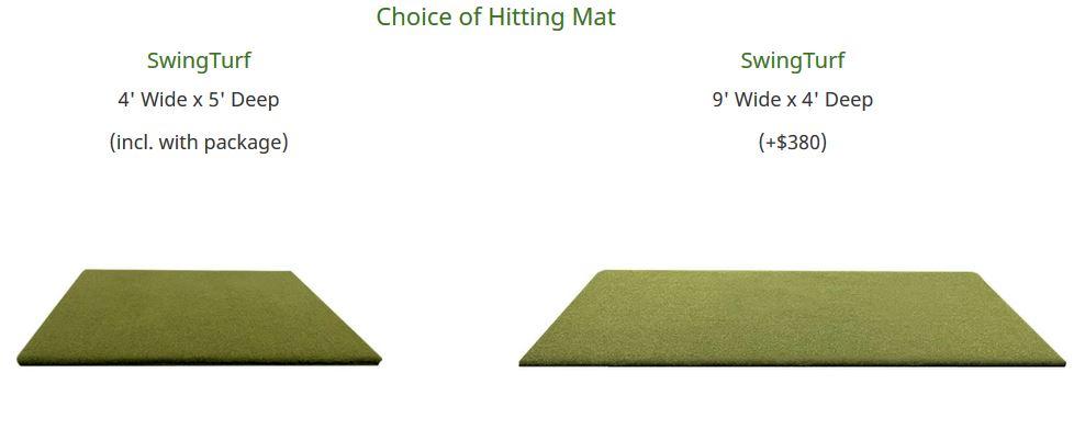 SkyTrak Swingbay Golf Simulator Package review - bestgolfsimulatorsforhomereviews.com