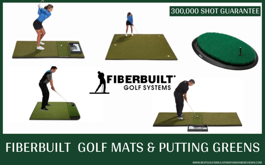 Fiberbuilt Golf Practice Mats and Putting Greens review