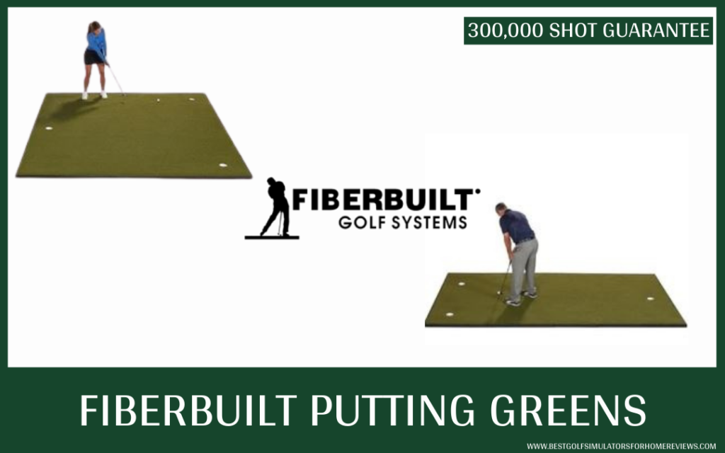 Fiberbuilt Golf Mats and Putting Greens - Putting Greens Overview