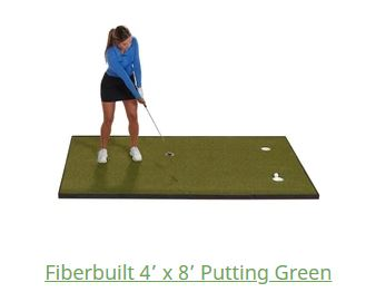 fiberbuild golf putting greens review