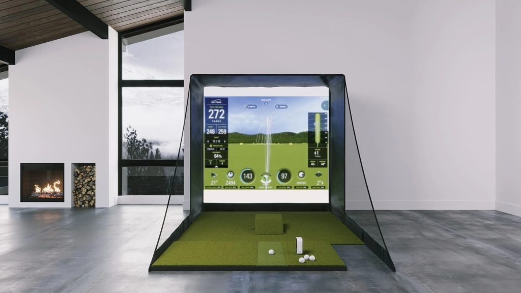 skytrak sig8 golf simulator package review - bestgolfsimulatorsforhomereviews