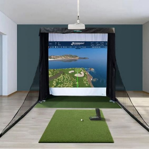 GC2 Compact Golf Simulator Package + FSX Software Package