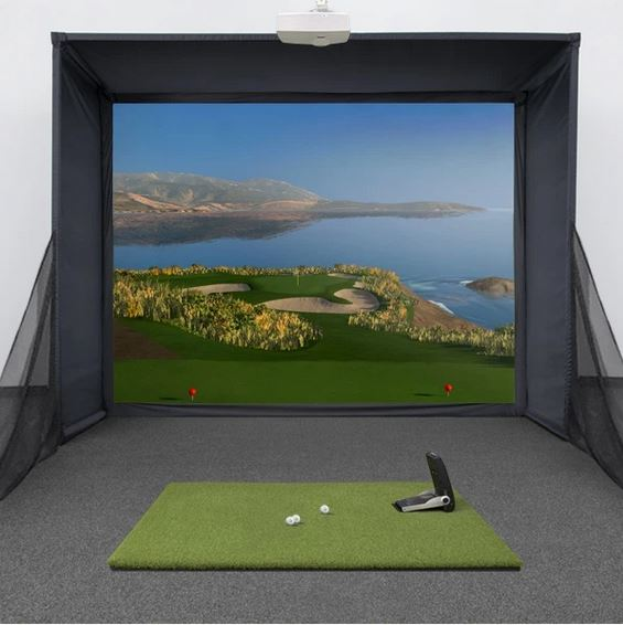 GC2 Swingbay Golf Simulator + FSX Software Package