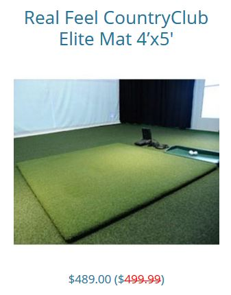 Country Club Elite Golf Mats by Real Feel Golf Mat review