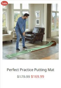 perfect putting mat review - bestgolfsimulatorsforhomereviews
