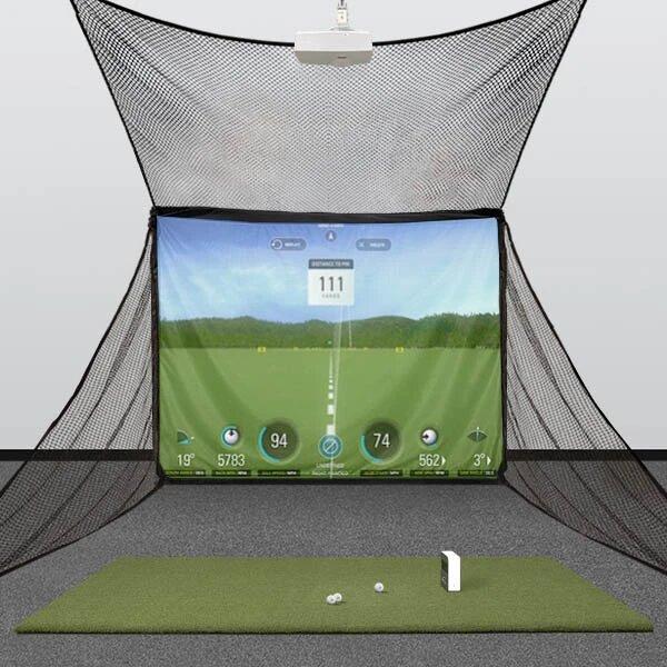 SkyTrak HomeBay Golf Simulator Package