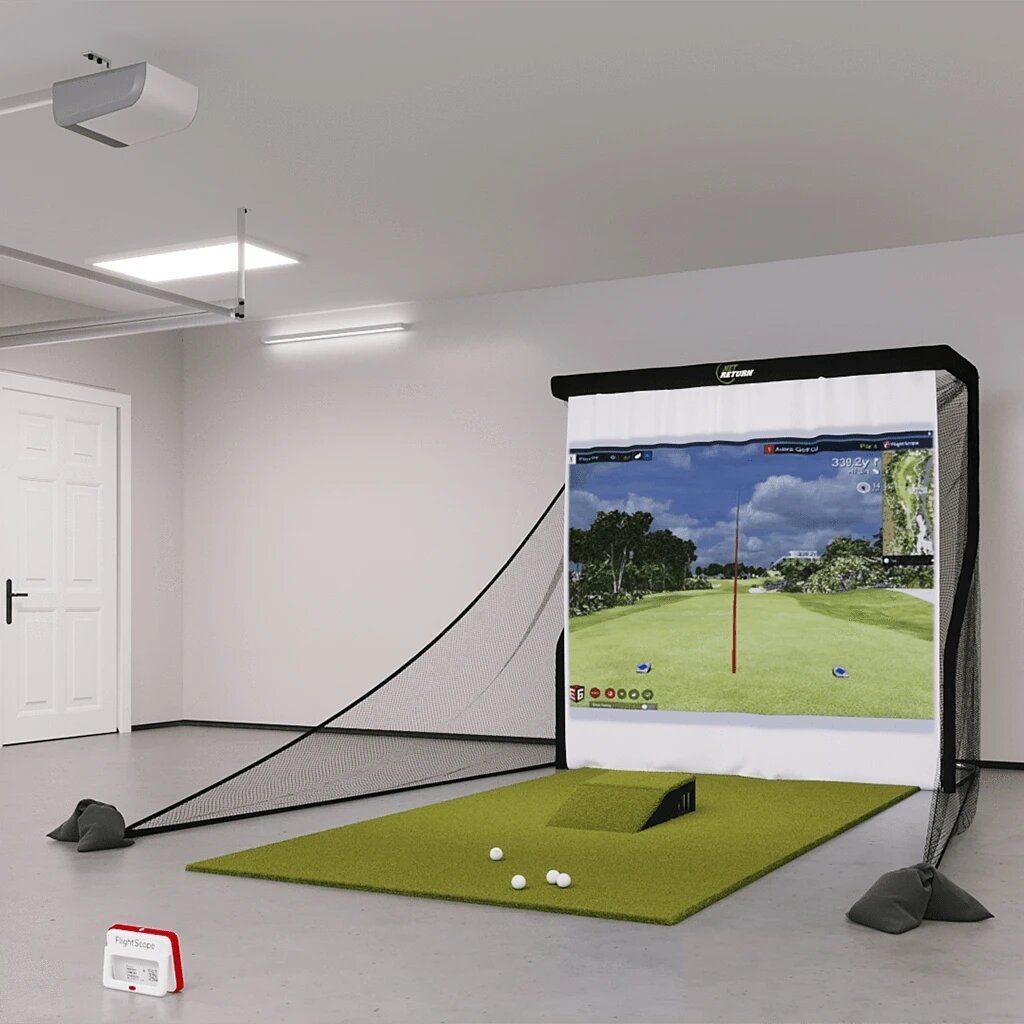 FlightScope Mevo+ (Mevo Plus) Bronze Golf Simulator Package