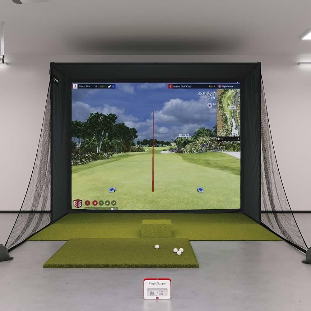 Mevo Plus (Mevo+) SIG10 Golf Simulator Package