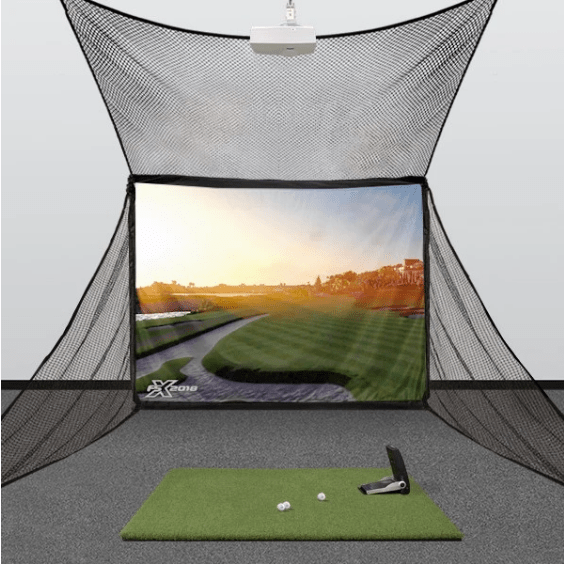 Foresight Sports' GC2 and HomeBay Golf Simulator + FSX Software Package