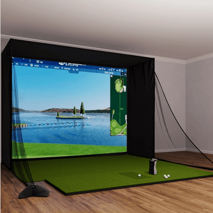 Foresight Sports' GCQuad SIG12 Golf Simulator Package