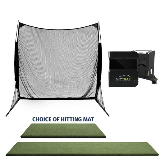 SkyTrak Golf SwingNet Golf-Simulator Package