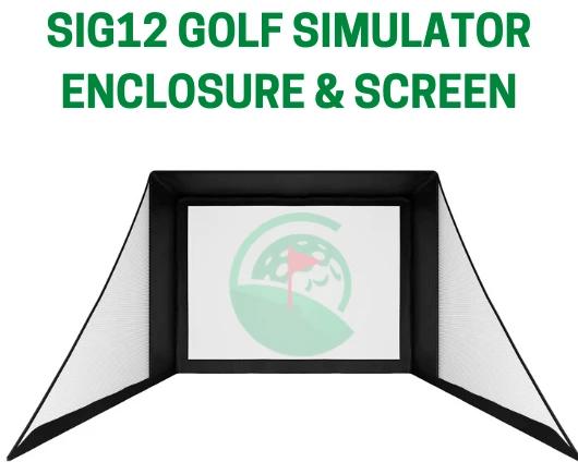 Mevo Plus (Mevo+) SIG12 Golf Simulator Package