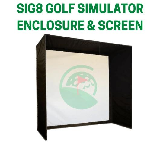 FlightScope Mevo plus (Mevo+) SIG8 Golf Simulator Package