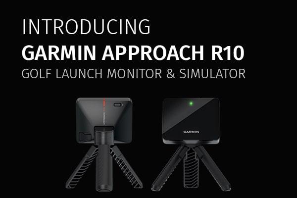 GARMIN APPROACH R10 golf simulator launch monitor